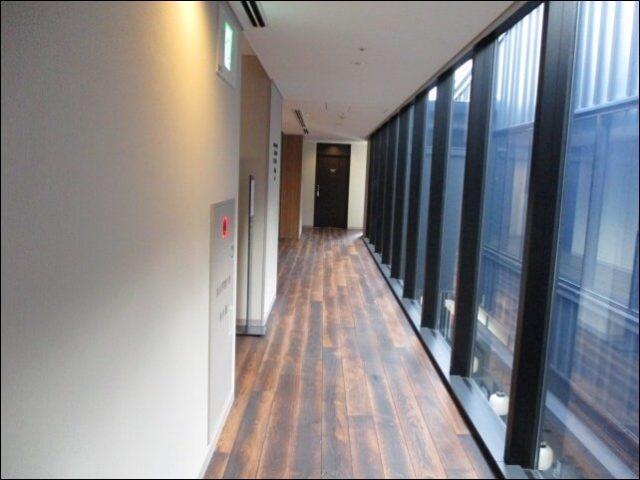 アエルルームに続く廊下