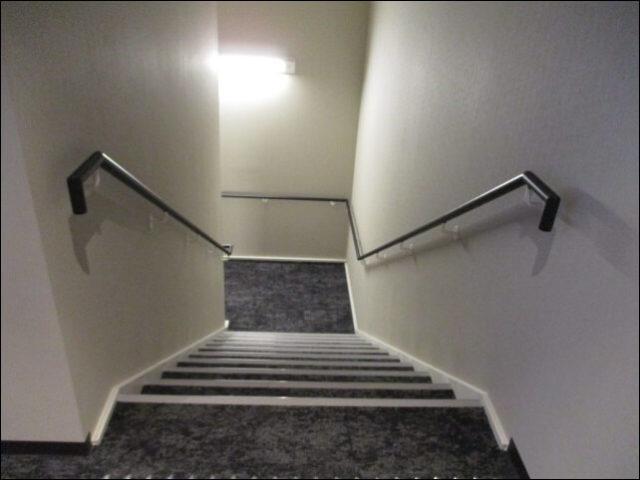 ぽて湯に続く階段