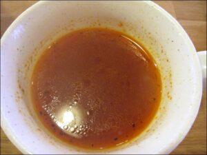 モノモノカフェのトマトのコンソメスープ