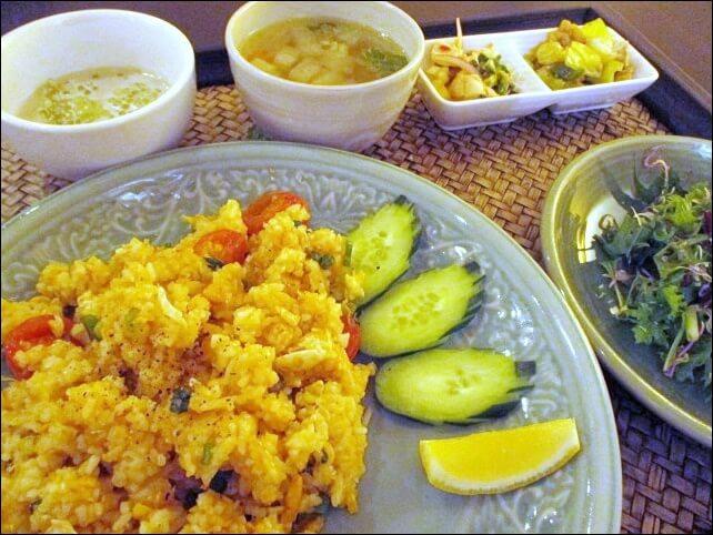【タイ料理チャンノイ】花遊小路店でランチと民芸品を楽しんできた