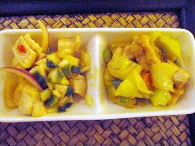【タイ料理チャンノイ】おかず2種類
