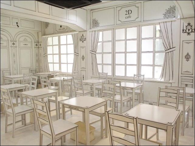 すべて手描きの絵の中カフェ【ink cafe(インクカフェ)】へ行ってみた