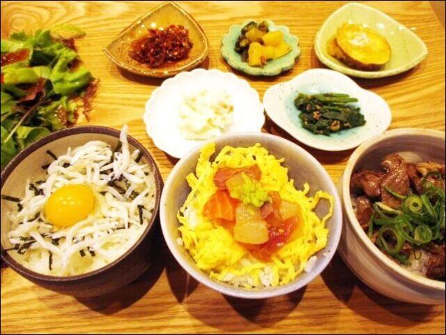 【コトワリ】<KOTOWARI3種丼プレート>を食べてみた