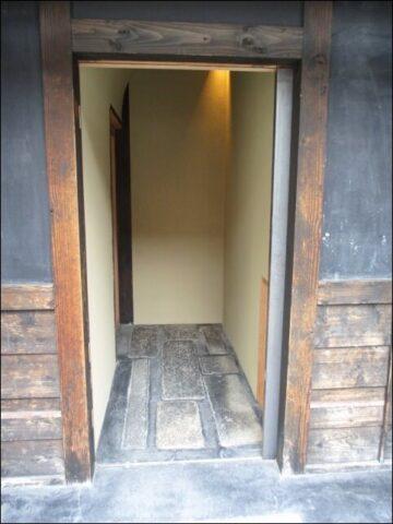すがり (京都 高倉六角)の入り口